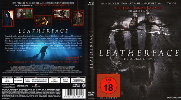 Leatherface, EuroVideo -Fassung © EuroVideo