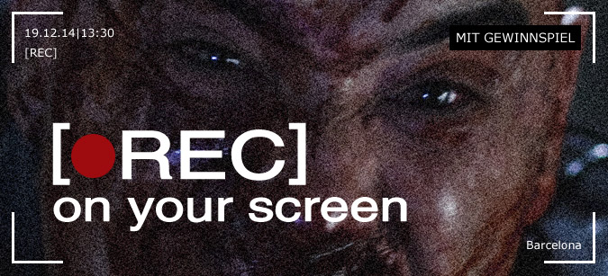 REC on your screen © Universum Film